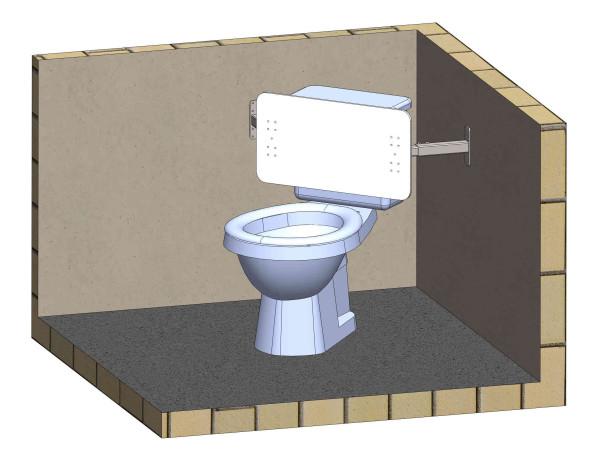 HC stöd WC hörn 1